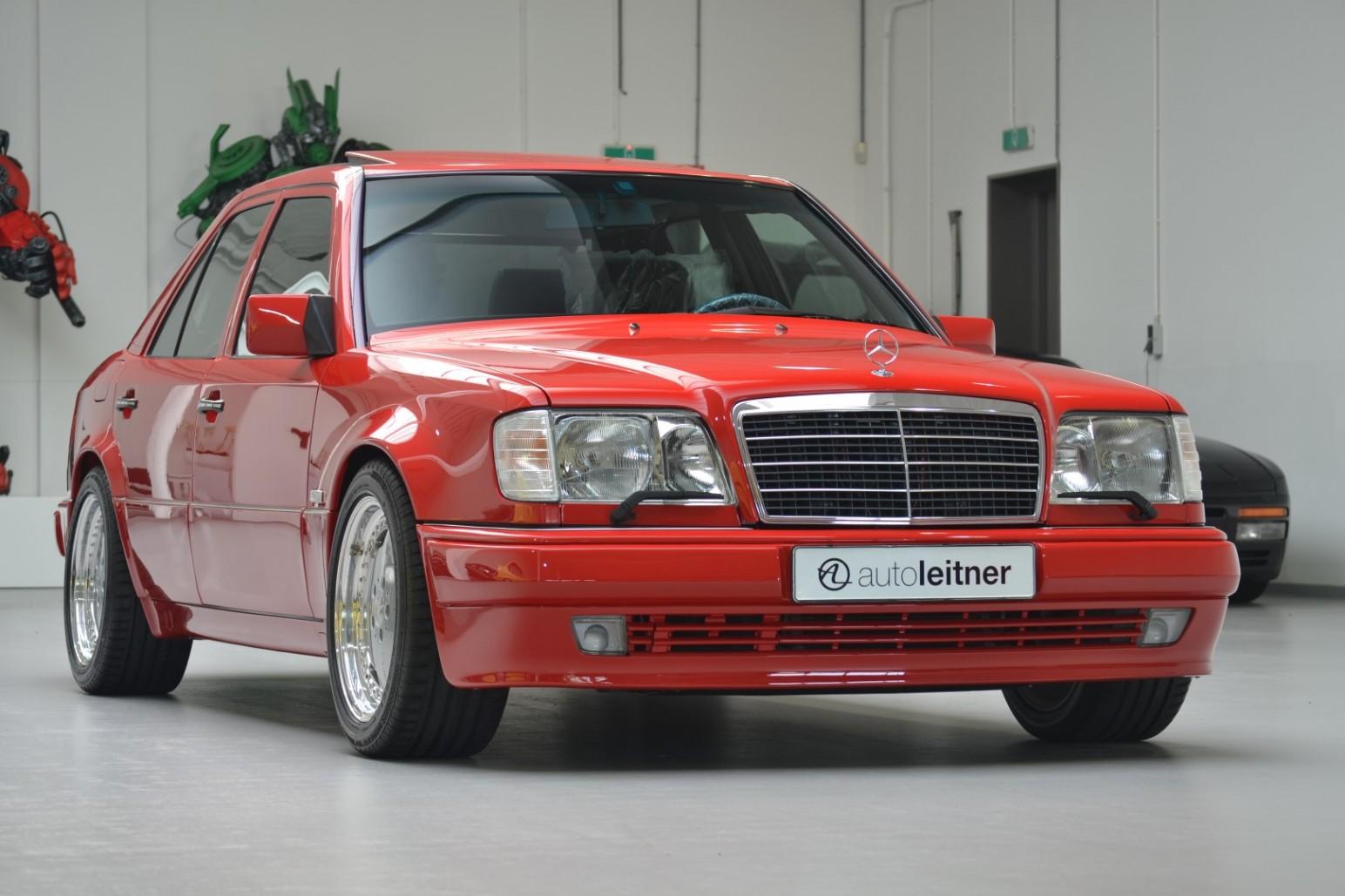 Mercedes E60 AMG Signal Red