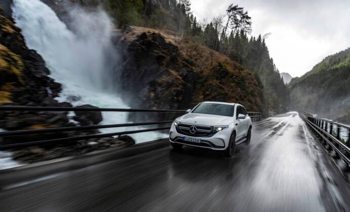 Mercedes EQC Oslo