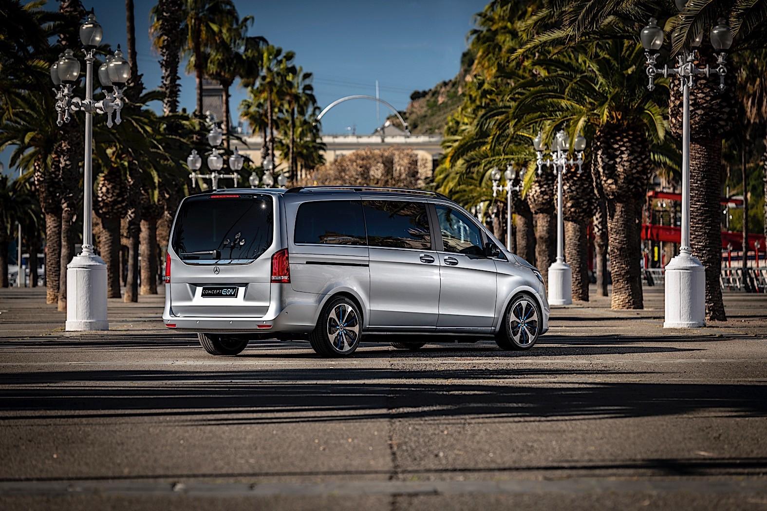 Mercedes EQV foto Barcellona