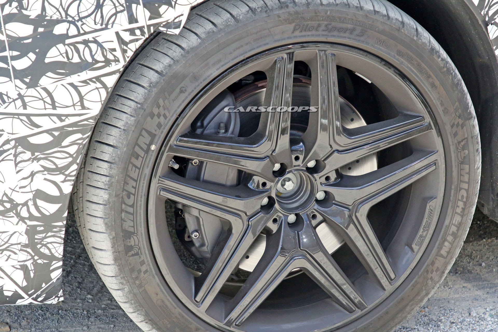 Mercedes GLB 45 AMG 2021: ecco le ultime foto spia della variante top