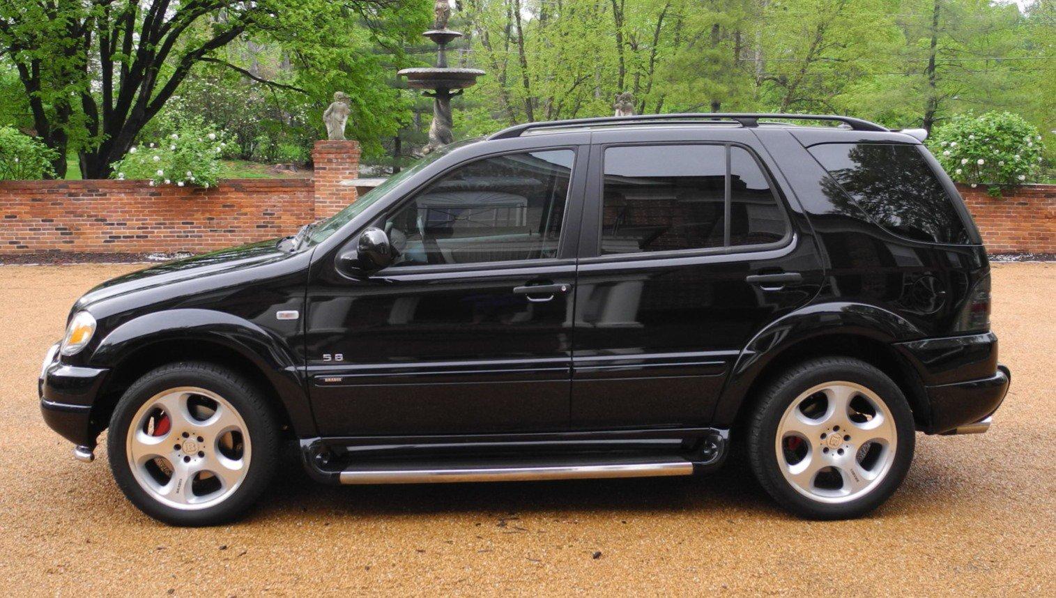 Mercedes ML 430 Brabus 2001 asta