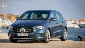 2019 Mercedes Classe-B Anteriore Blu