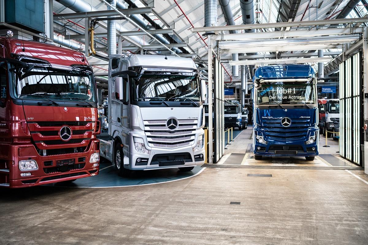 Nuovo Mercedes Actros primo esemplare