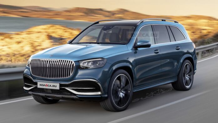 Nuovo Mercedes-Maybach GLS render