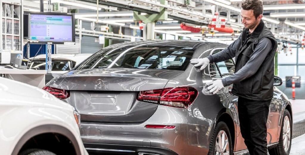Stabilimento Mercedes di Rastatt