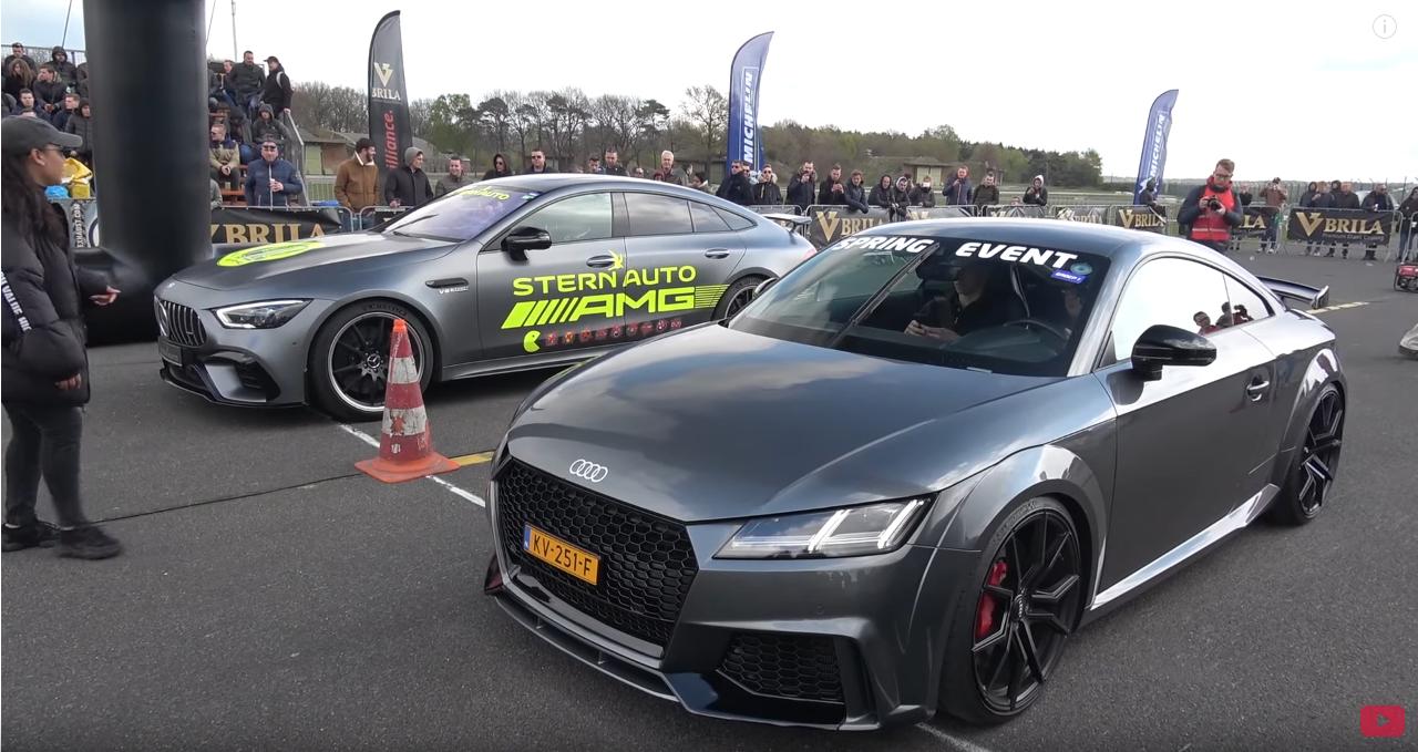 Mercedes-AMG GT 63 S vs Audi TT RS