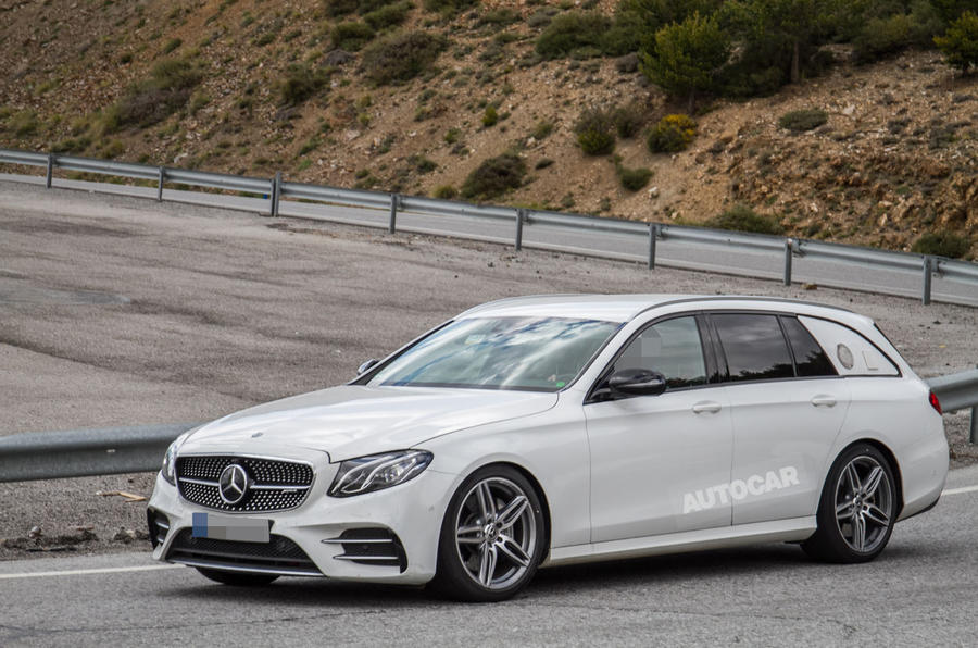 Mercedes Classe E Estate prototipo