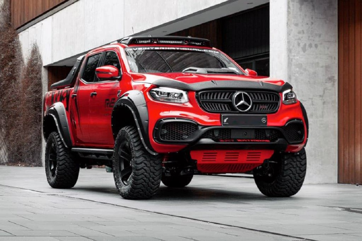 Mercedes Classe X EXY Extreme