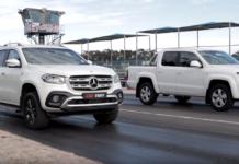 Mercedes Classe X vs Volkswagen Amarok