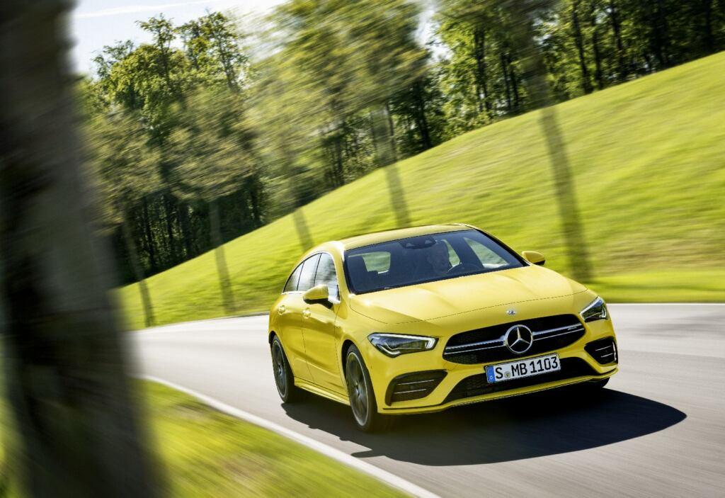 Nuova Mercedes-AMG CLA 35 Shooting Brake