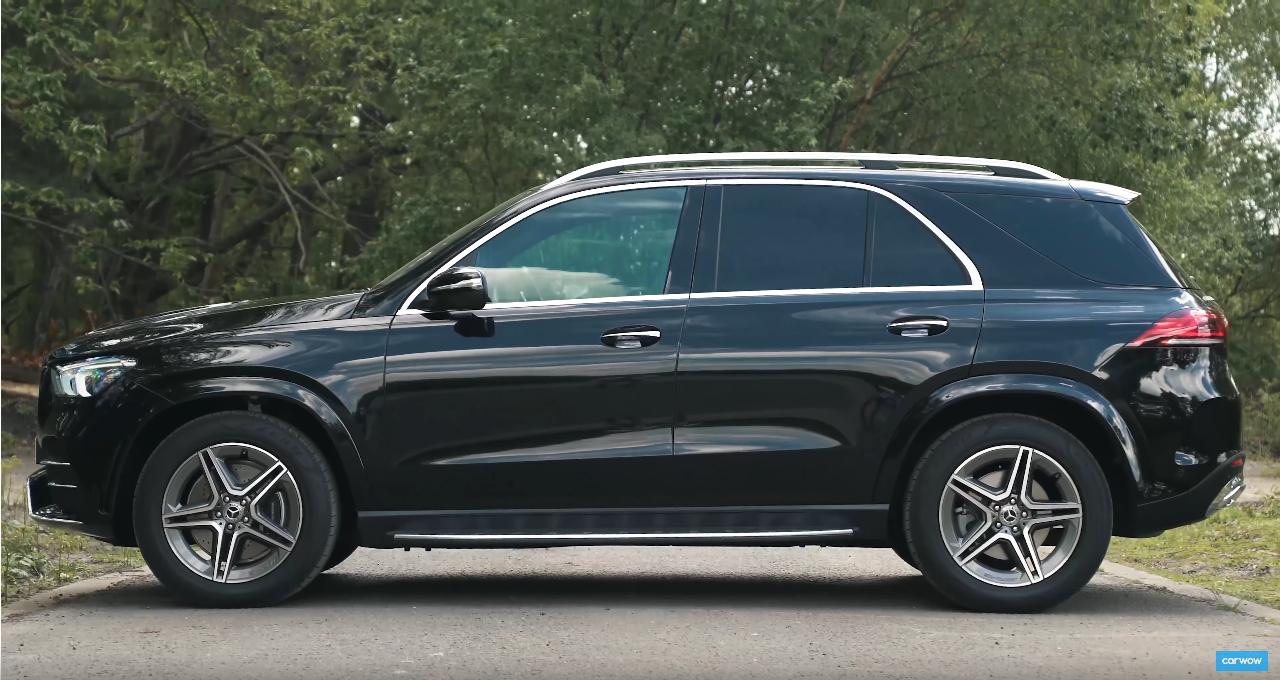 Nuovo-Mercedes-GLE 2019 Laterale