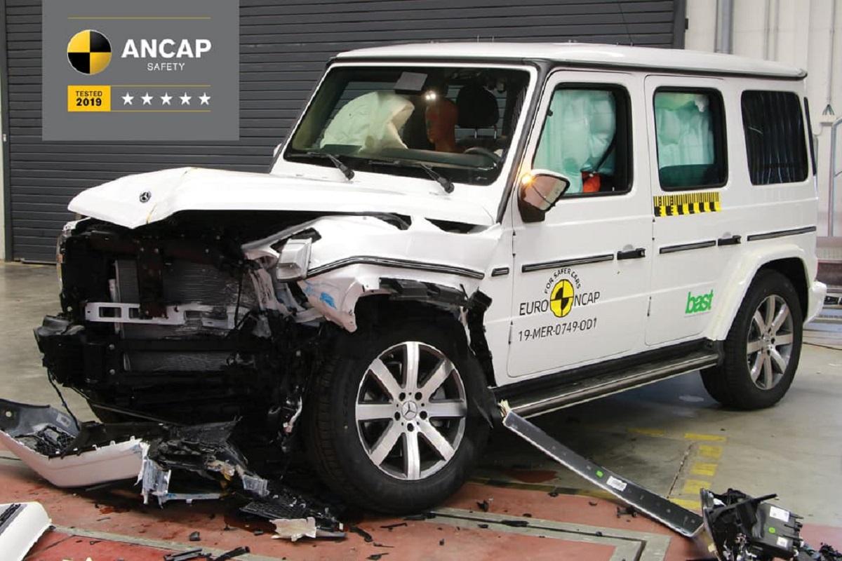 Mercedes Classe G ANCAP
