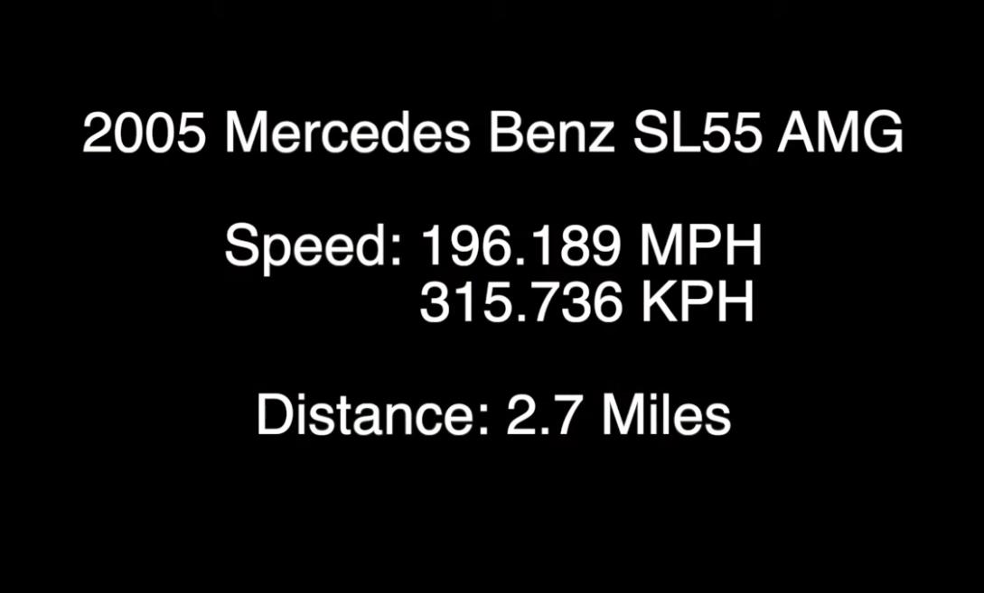 Mercedes SL 55 AMG 2005