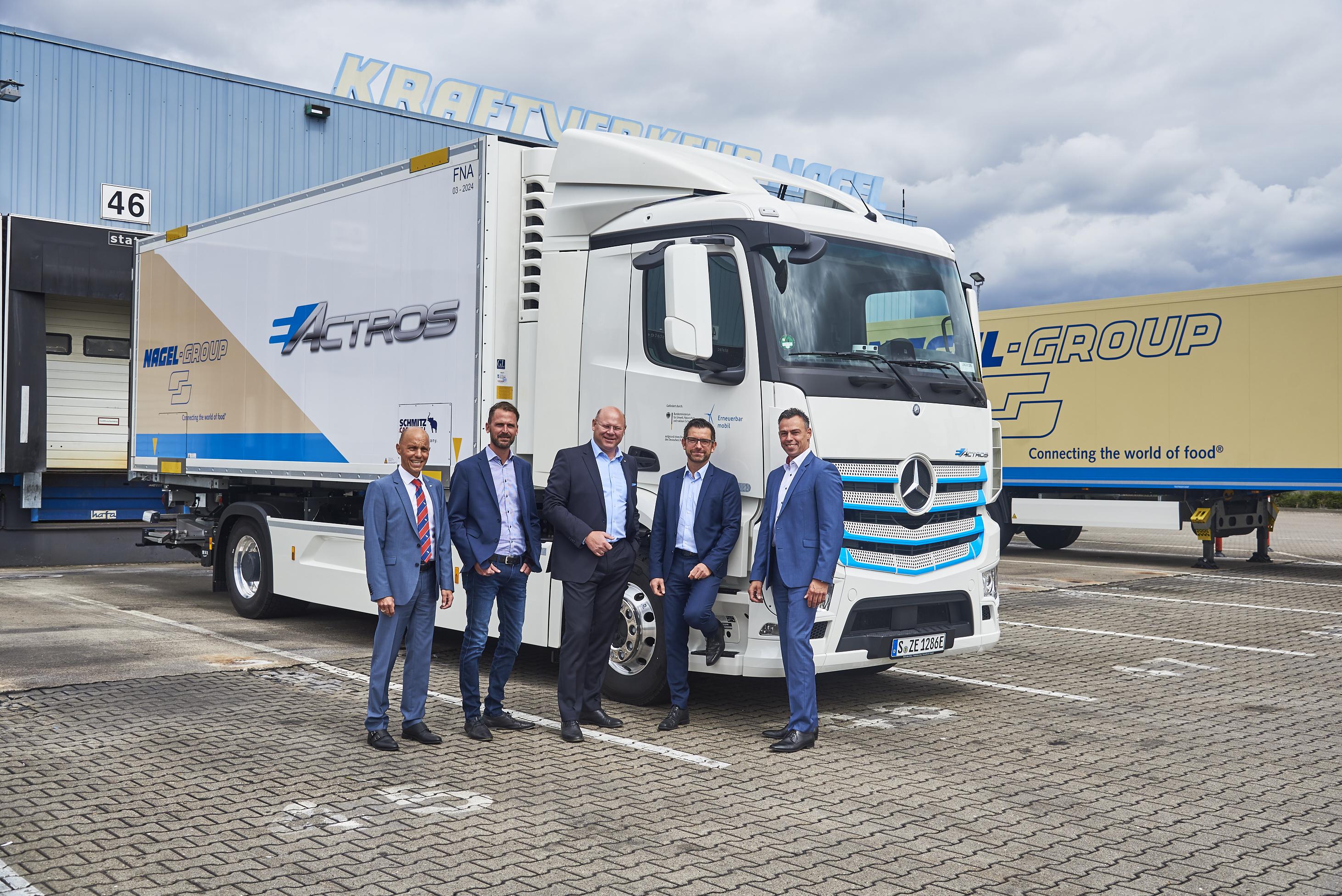 Mercedes eActros Nagel-Group