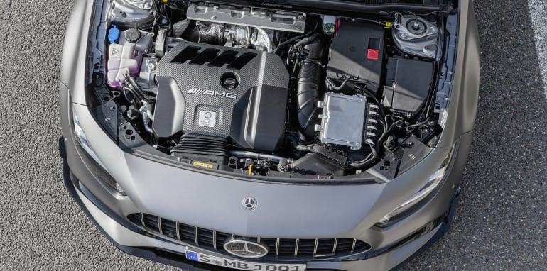 Nuova Mercedes-AMG A 45 motore