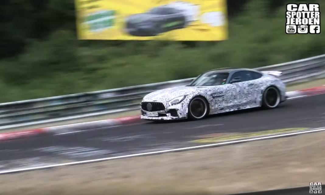 Nuova Mercedes AMG-GT 53 Nurburgring