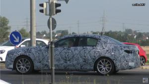 Nuova Mercedes Classe C prototipo