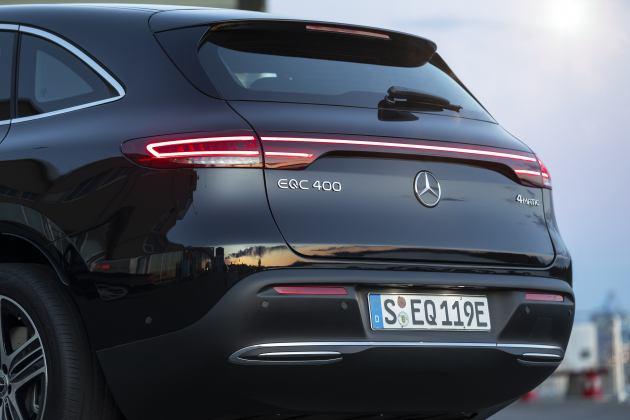 Nuovo Mercedes EQC vacanze