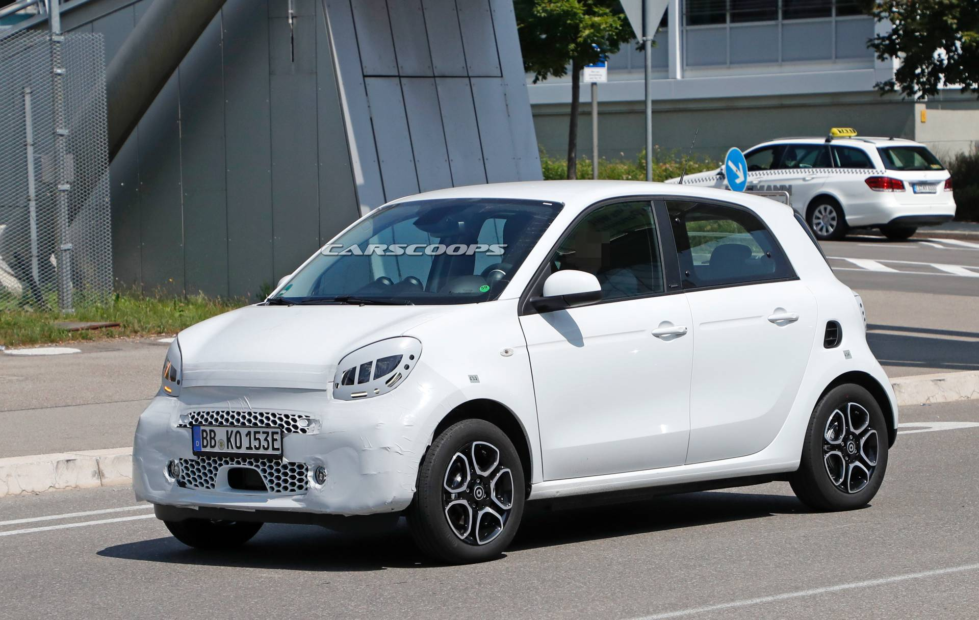 Smart EQ ForFour 2020 prototipo