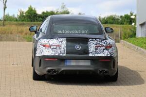 Mercedes-AMG E 53 Coupé 2021 foto spia