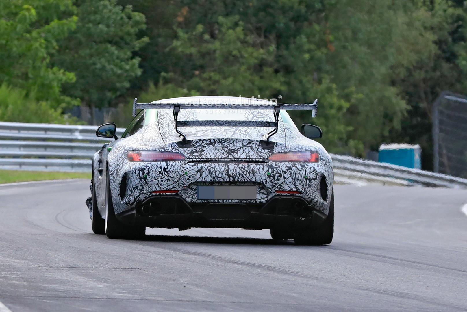 Mercedes-AMG GT R Black Series 2020 Nurburgring