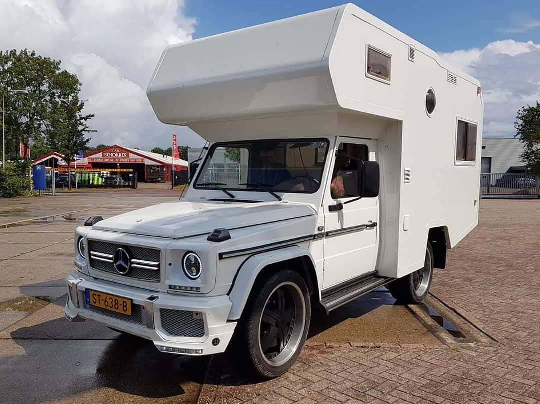Mercedes Classe G camper