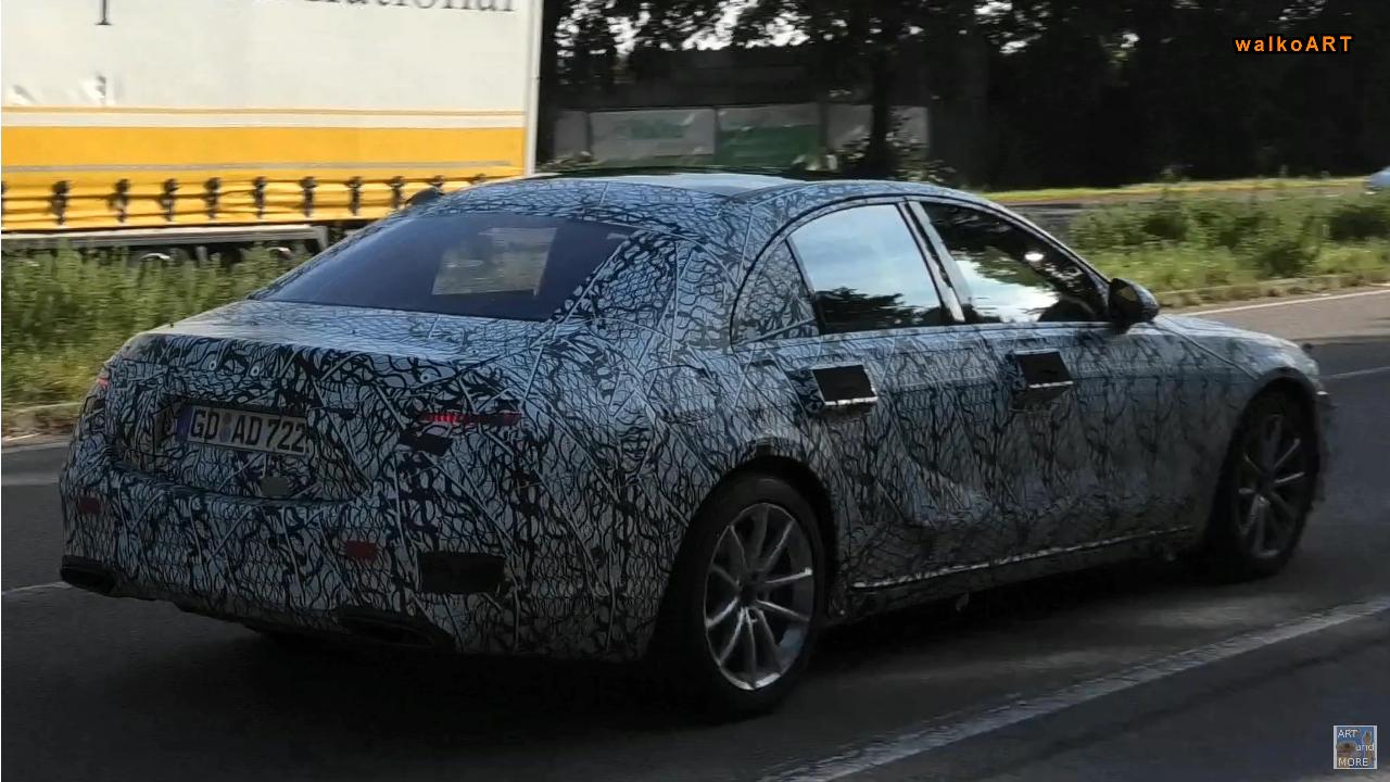 Mercedes Classe S 2021 nuovo prototipo