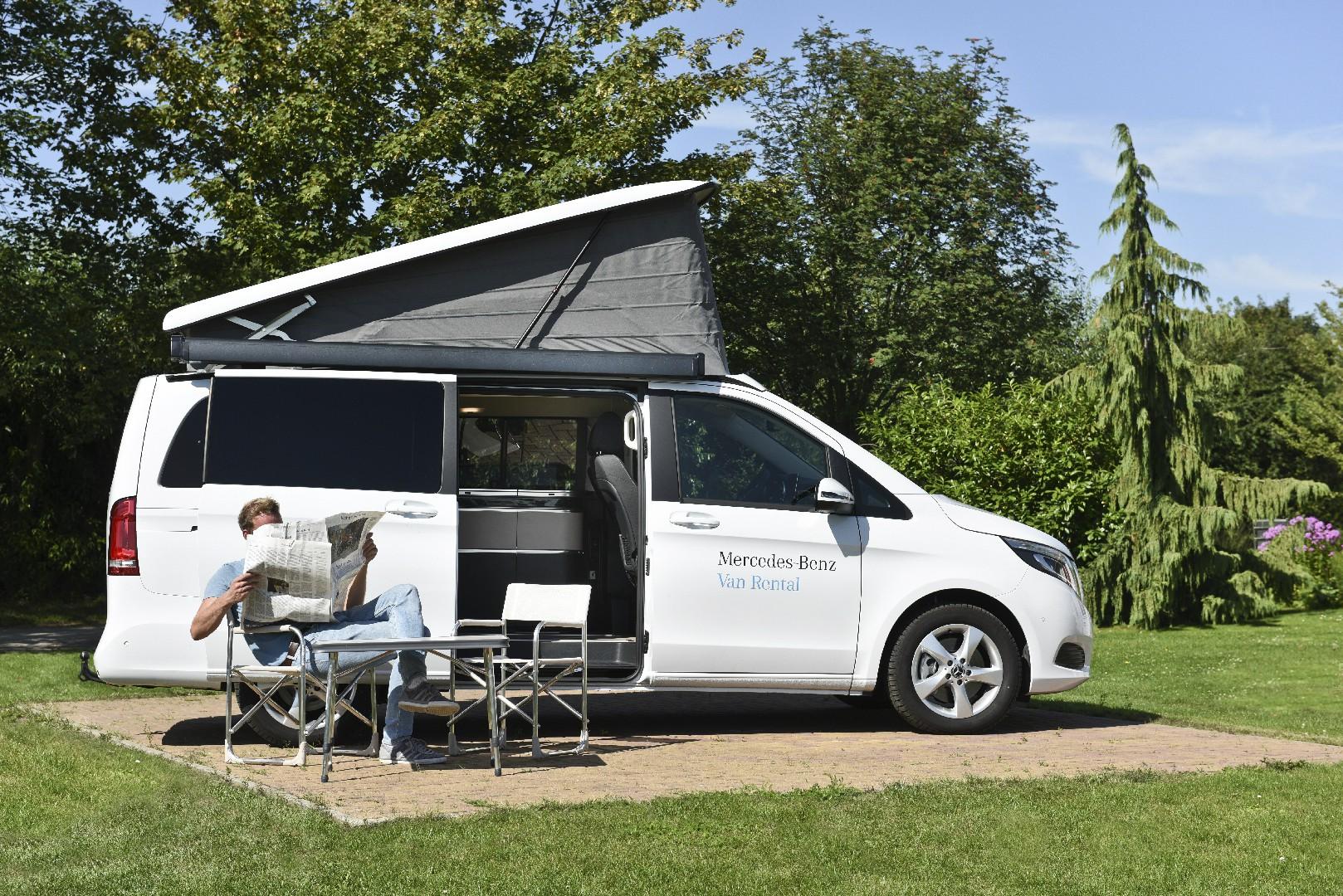 Mercedes Marco Polo disponibile a noleggio su Mercedes Van