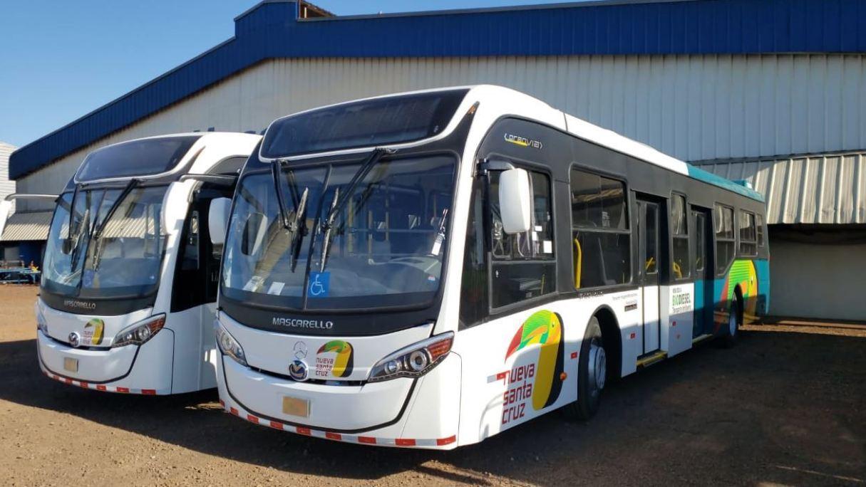Mercedes autobus Bolivia