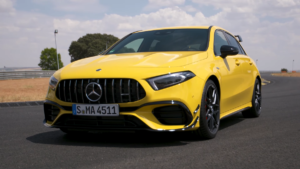 Nuova Mercedes-AMG A 45 S Autocar