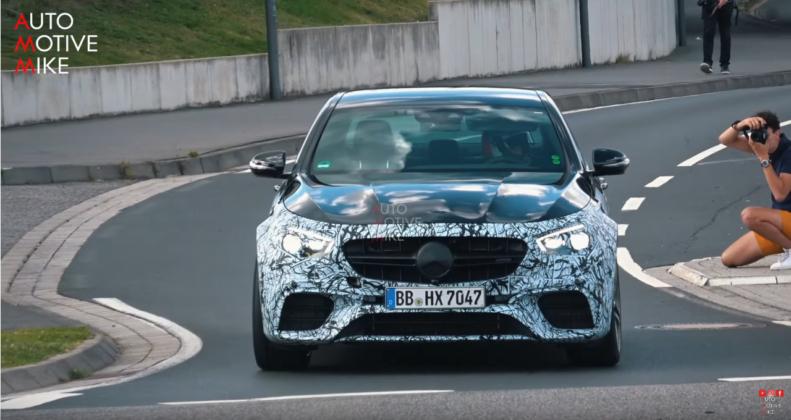 Nuova Mercedes-AMG E 63 berlina foto spia