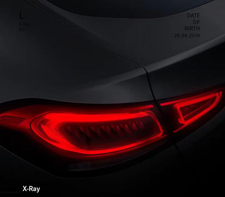 Nuovo Mercedes GLE Coupé teaser