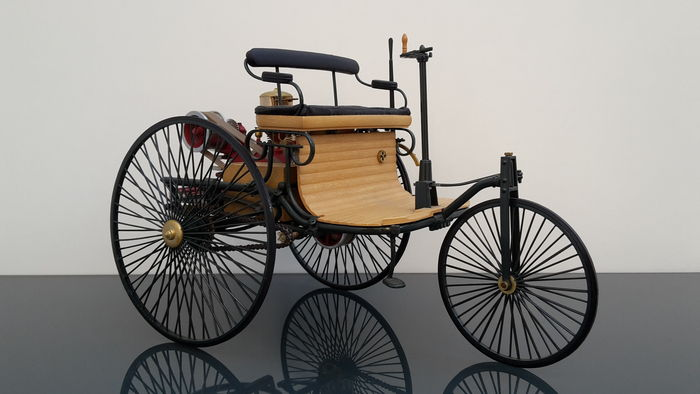 Benz Patent Motor Car: The first automobile (1885–1886)