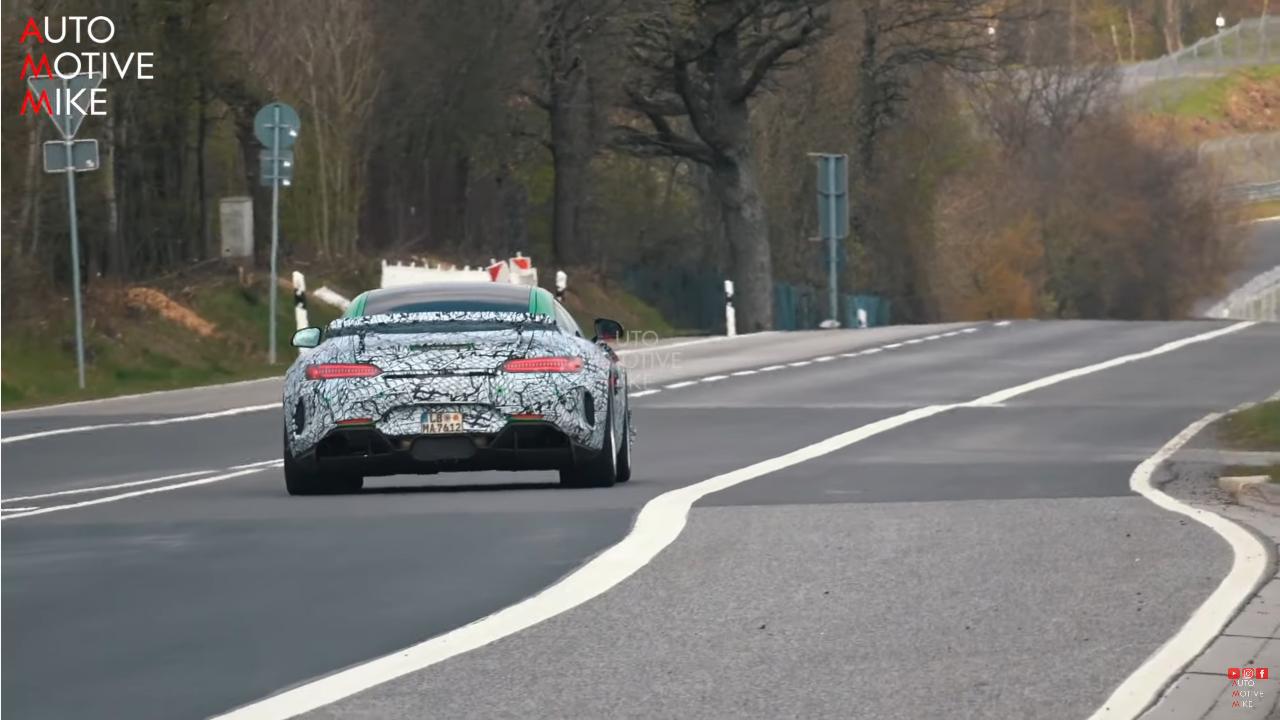 Nuova Mercedes-AMG GT R Black Series: l'ultimo video spia registrato al Nurburgring