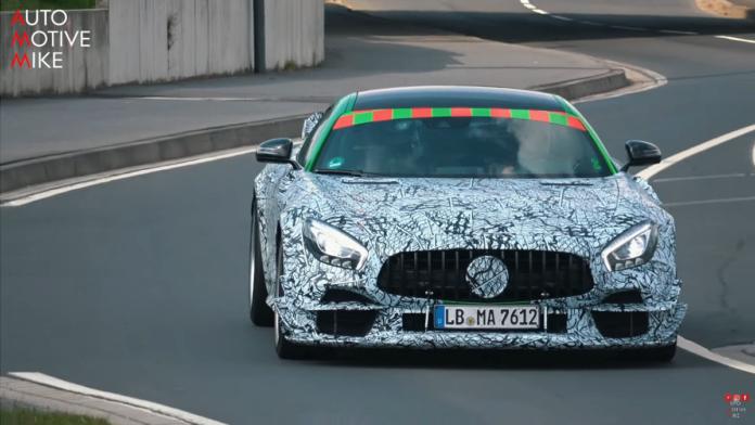 Mercedes-AMG GT R Black Series 2020 foto spia