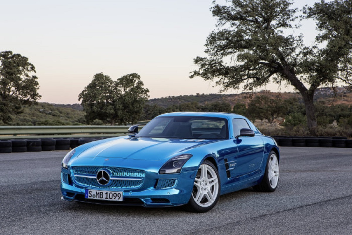 Mercedes-AMG SLS Electric Drive 2013