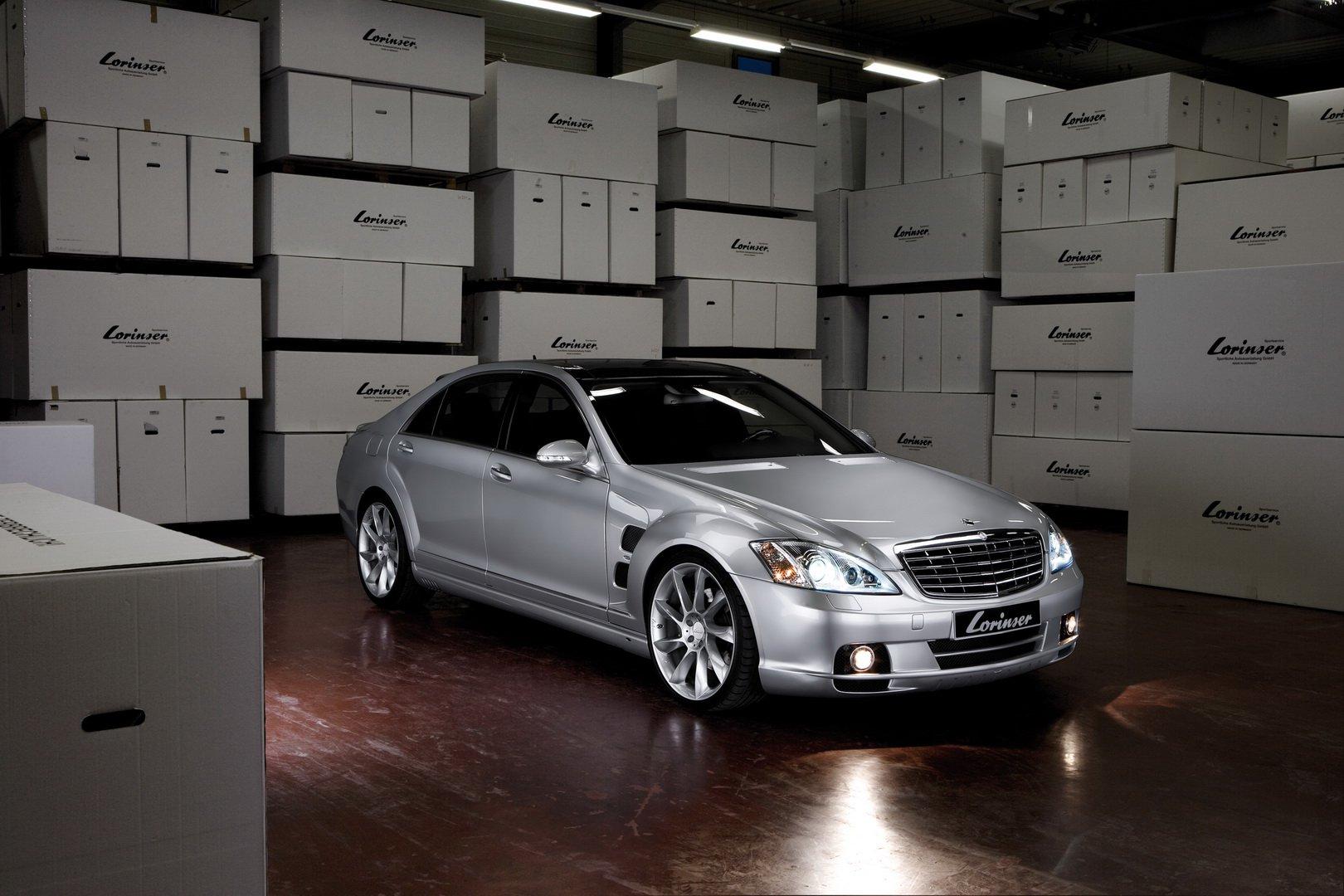 Mercedes Classe S W221: Lorinser propone alcuni potenziamenti per la vecchia vettura