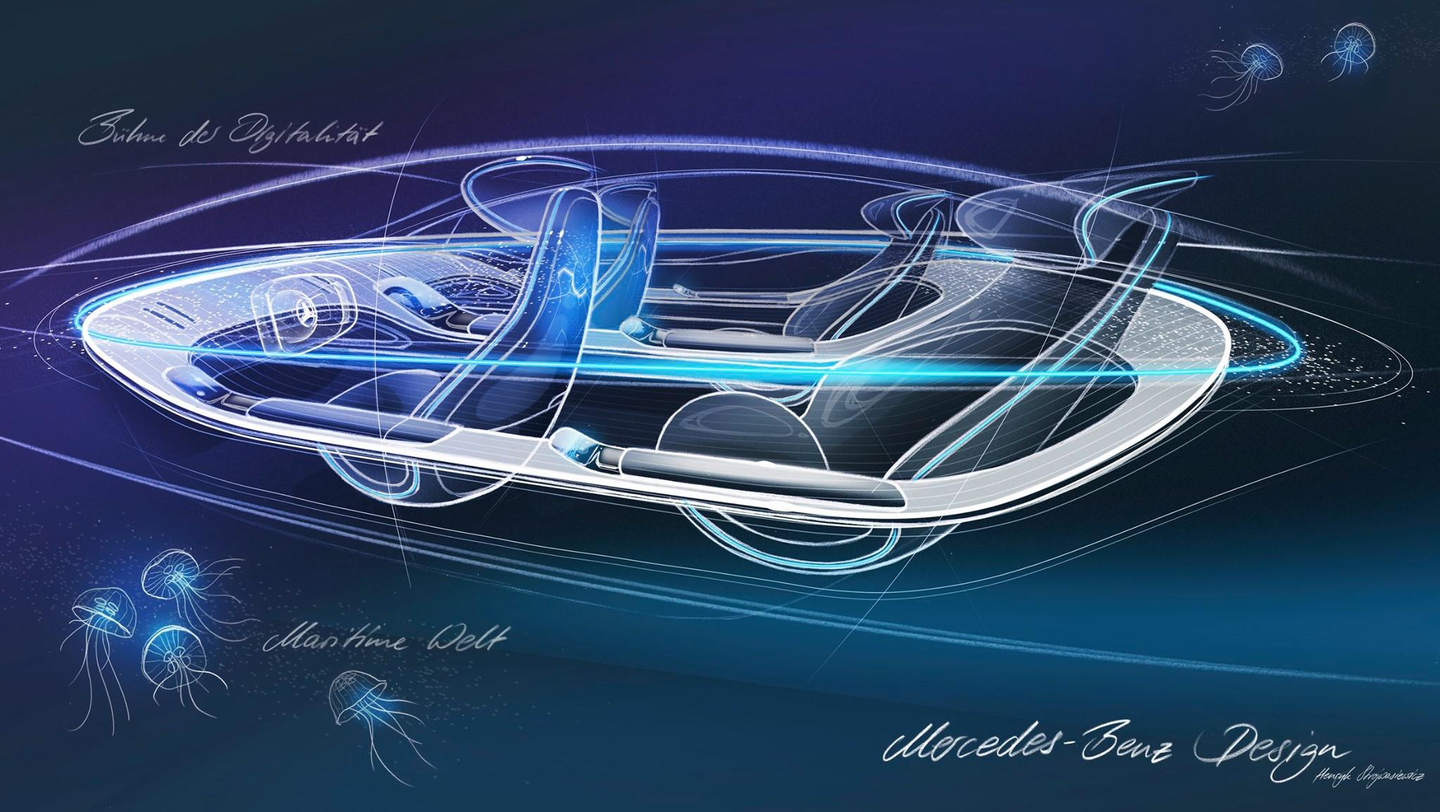 Mercedes EQ Concept interni