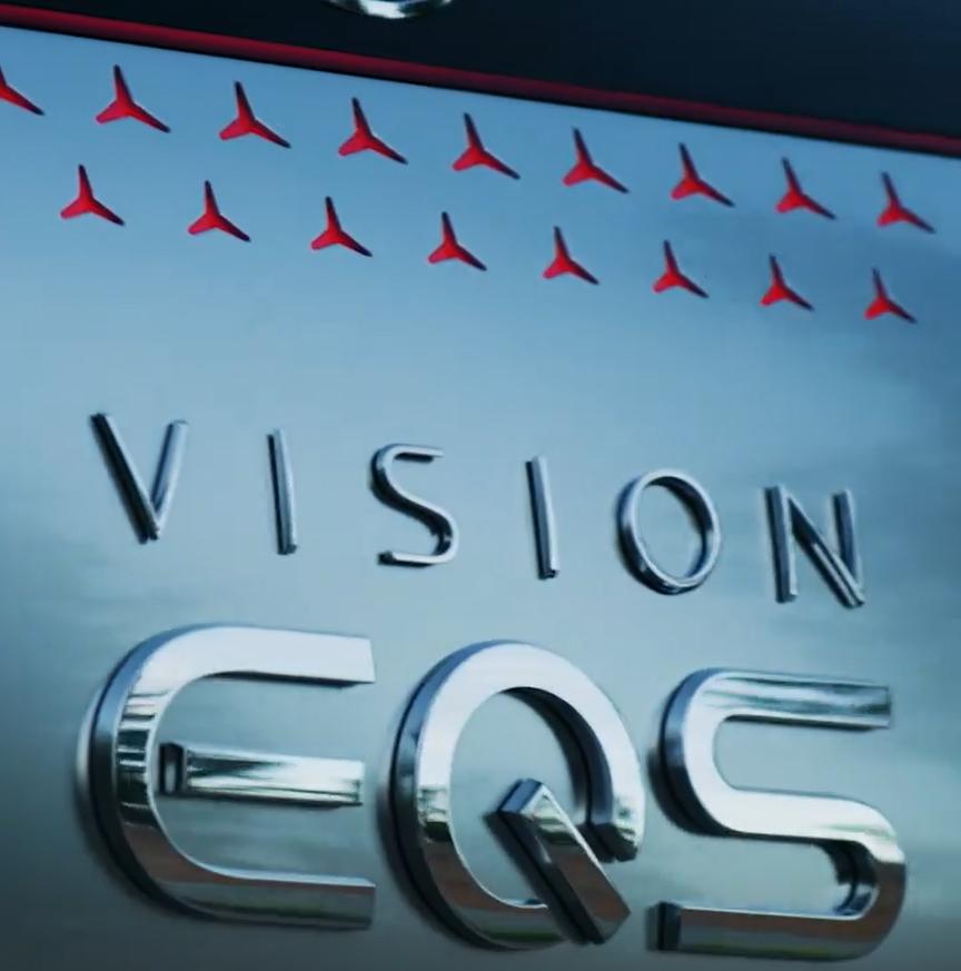 Mercedes Vision EQS teaser