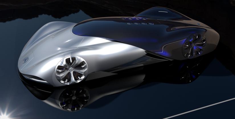 Mercedes Vision Mantilla Concept