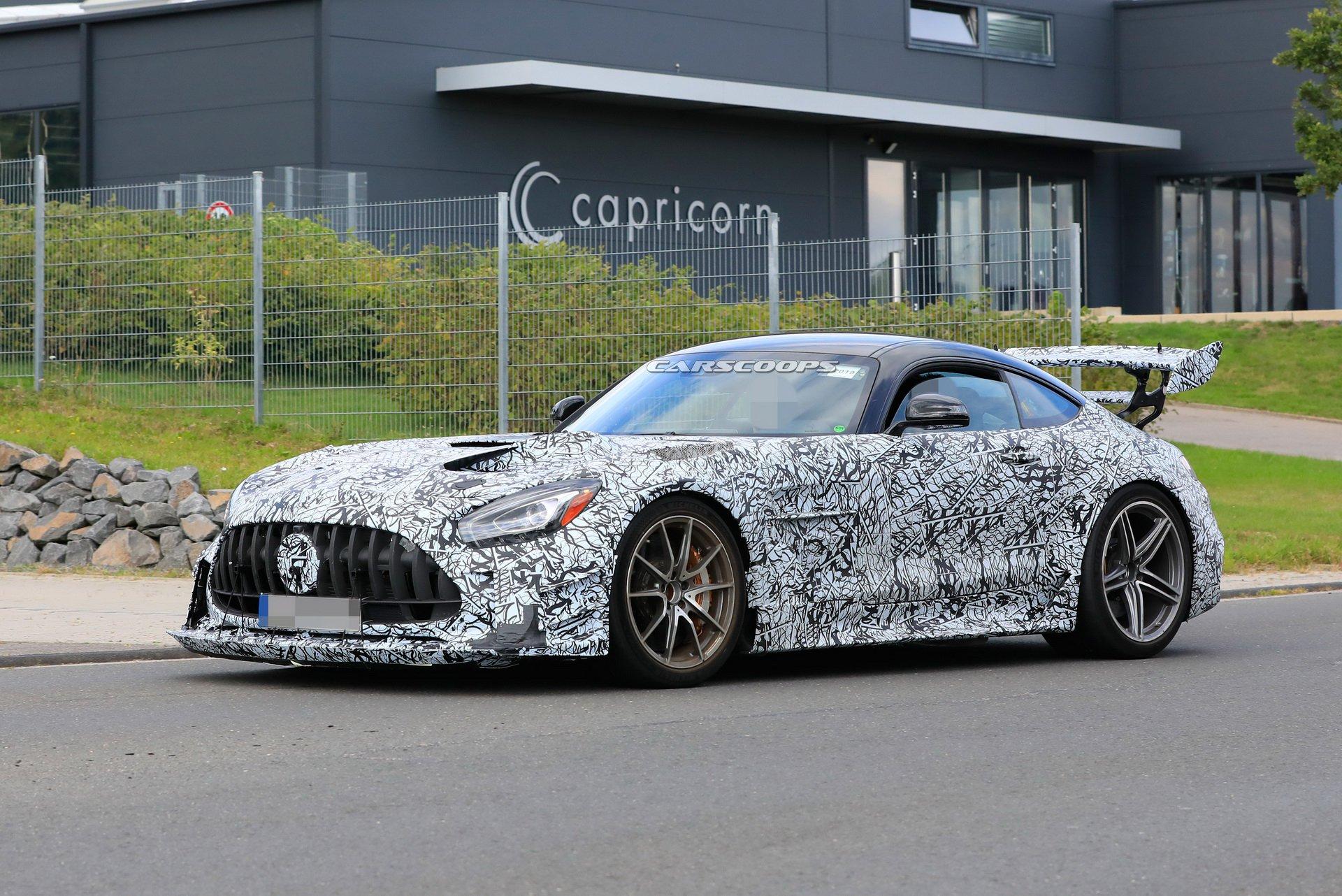 Nuova Mercedes-AMG GT R Black Series design finale