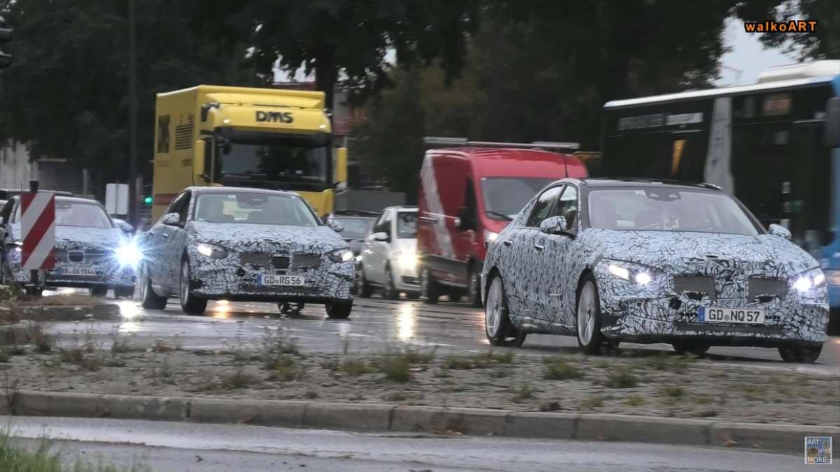 Nuova Mercedes Classe C prototipo Stoccarda