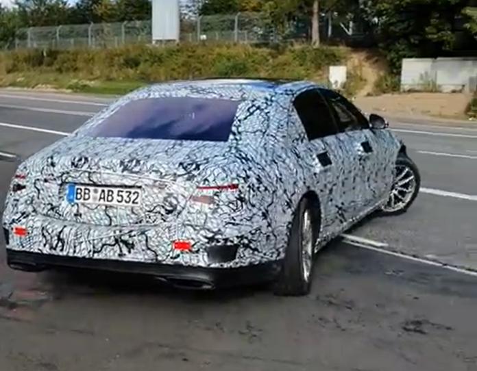 Nuova Mercedes Classe S ruote posteriori sterzanti