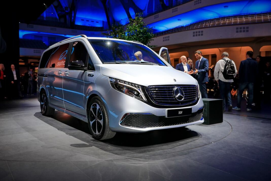 Nuova Mercedes EQV Salone di Francoforte 2019