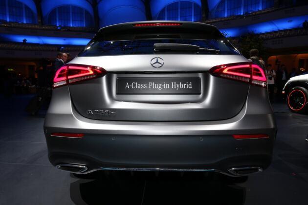 Nuove Mercedes A 250e Salone di Francoforte 2019
