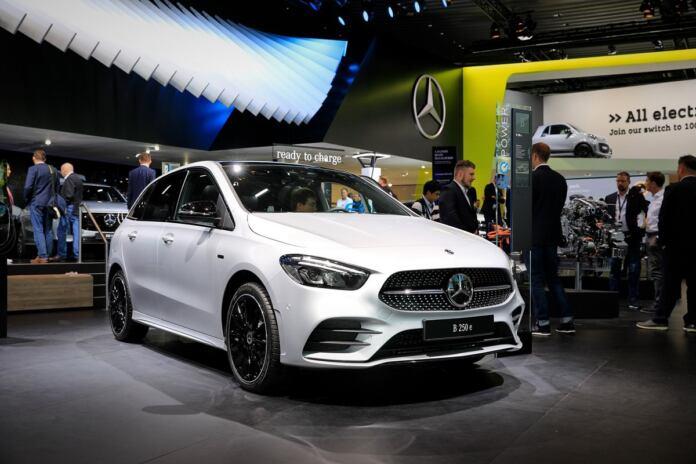 Nuove Mercedes B 250e Salone di Francoforte 2019