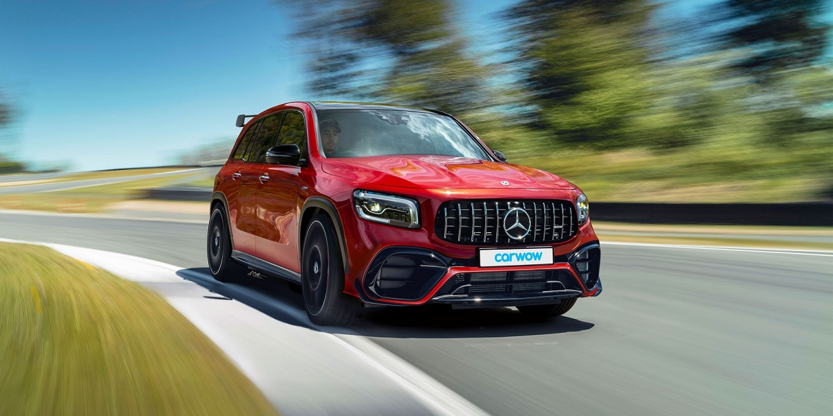 Nuovo Mercedes-AMG GLB 45 render Carwow