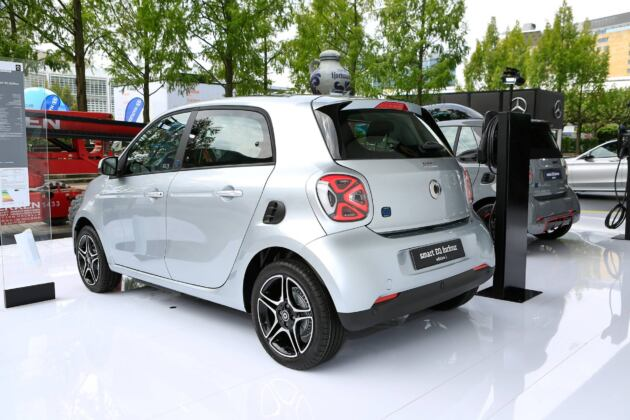 Smart EQ ForFour 2020 Edition 1