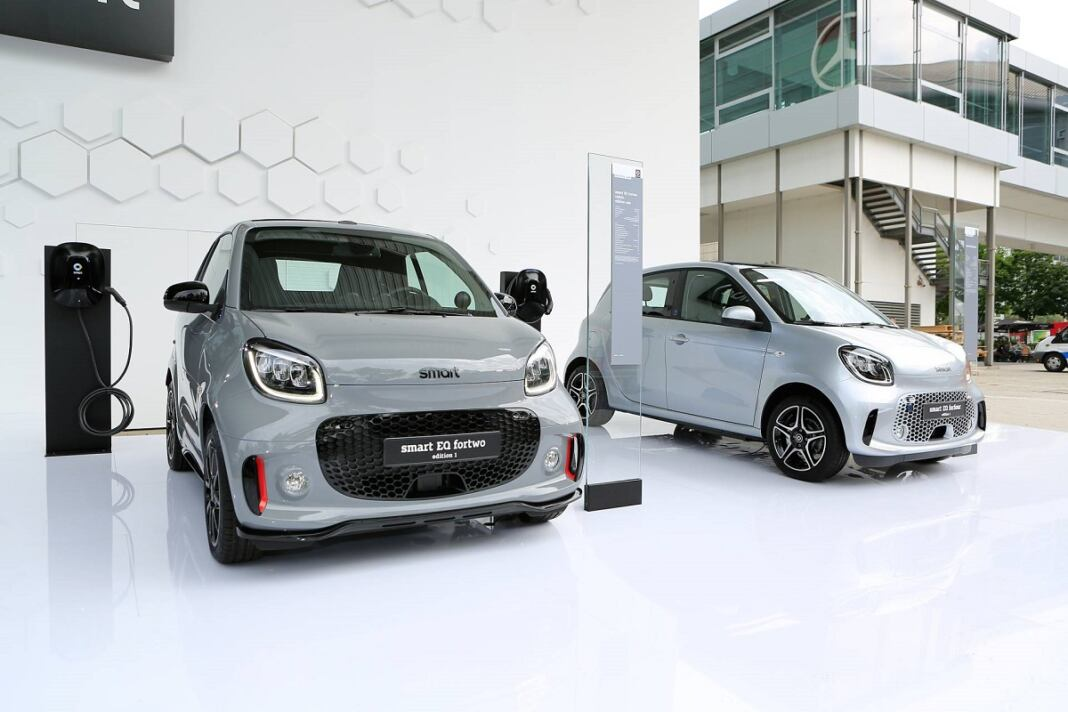 Smart EQ ForTwo e ForFour 2020 Edition 1