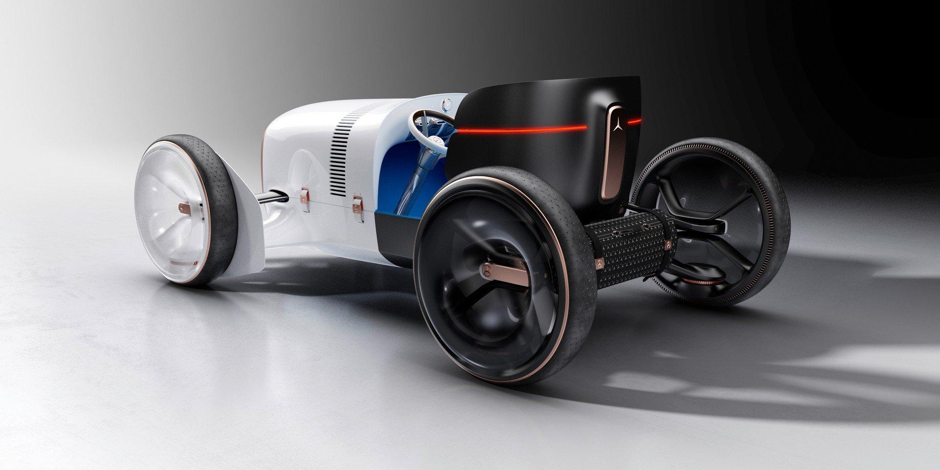 Vision Mercedes Simplex: un concept retrò con un tocco futuristico